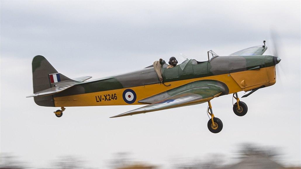 Na Chrudimsku vzlétl letoun, na němž se za války cvičili i Čechoslováci