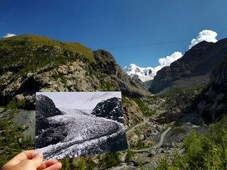 Švýcarská údolí kdysi vyplňovaly mohutné ledovce, dnes po nich často zůstaly...