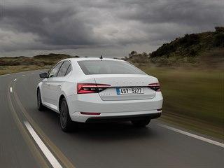 Plug-in hybridní Škoda Superb iV