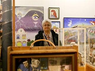 Výtvarnice Karla Hanušová má na hradě Špilberk výstavu s názvem Hajundija - zem...