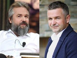 Martin Ditmar v roce 2019 (vlevo) a na archivní fotografii z roku 2016