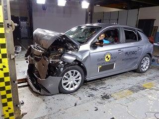 Opel Corsa v crashtestu Euro NCAP