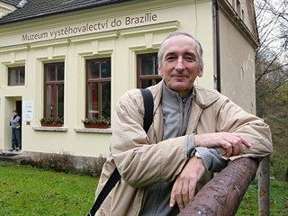 Petr Polakovič je ředitelem Muzea českého vystěhovalectví do Brazílie.