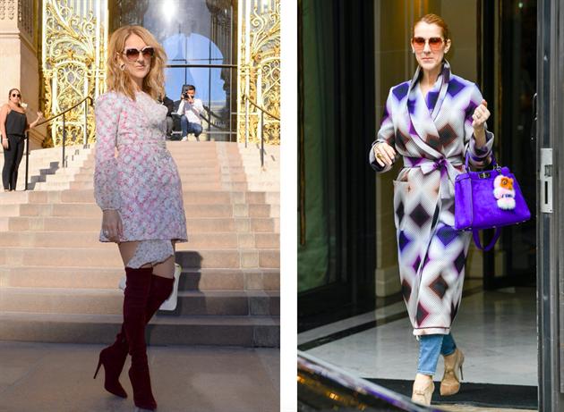 Céline Dion je módní ikonou. Inspirujte se jejím stylem