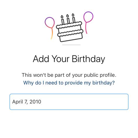 Instagram se bude ptát na věk uživatelů