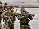 Německé speciální jednotky během vojenského cvičení v Munsteru. (26. září 2019)