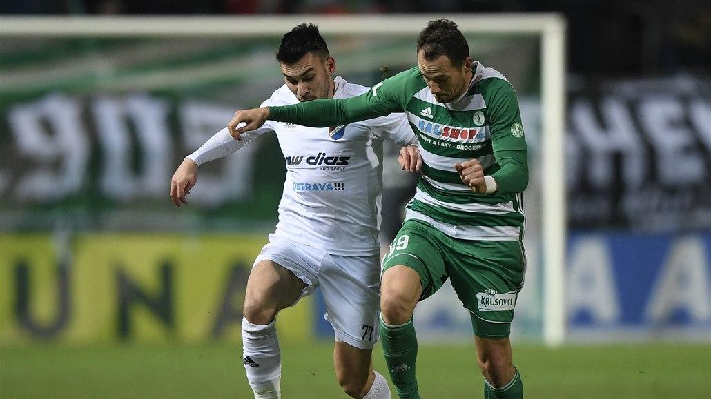Bohemians - Baník 0:2, góly po půli, tři body trefili Diop a Kuzmanovič