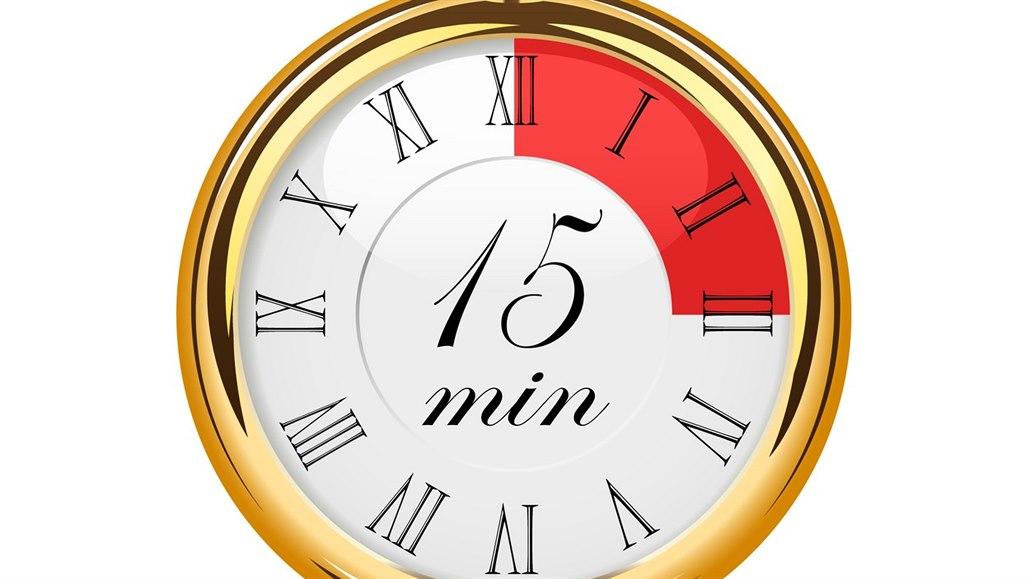 Na to, abyste své posluchače zaujali, máte pouhých patnáct minut