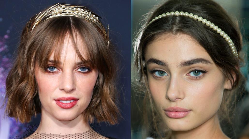 Nápadité vlasové doplňky pro sofistikované dámy i milovnice trendů