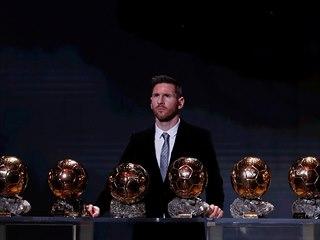 ŠEST. Zlatých míčů už nasbíral argentinský čaroděj Lionel Messi.