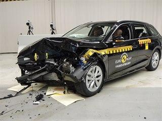 Crashtest Škody Octavia čtvrté generace