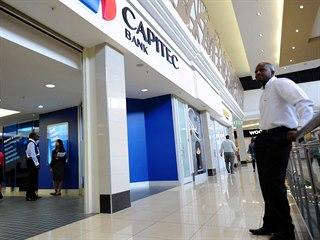 Pobočka jihoafrické banky Capitec v Johannesburgu (2012)