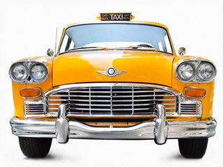 Checker newyorské taxi