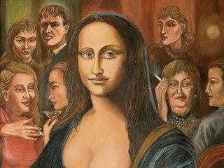 Obraz Mona Lisa od Karla Gotta