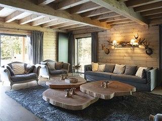 Venku je k dispozici rodině i hostům sauna.