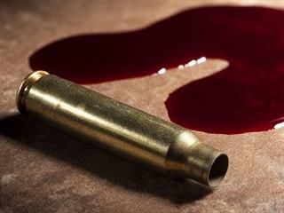 Po dřevěné podlaze se líně rozlévaly dvě temně rudé kaluže krve. Krev zatékala...