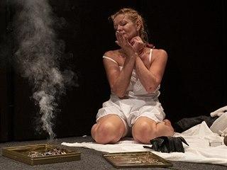 Vilma Cibulková v monodramatu Lidský hlas