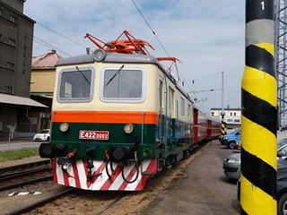 Lokomotiva E422 0003