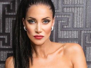 Andrea Pomeje při focení pro Playboy