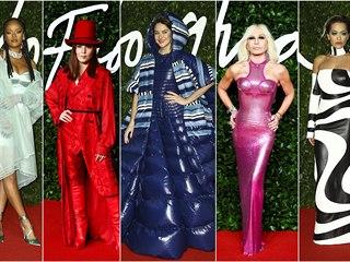 Móda na British Fashion Awards 2019