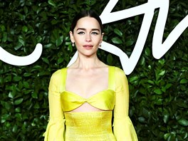 Emilia Clarke na British Fashion Awards (Londýn, 2. prosince 2019)
