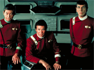 DeForest Kelley, William Shatner a Leonard Nimoy ve filmu Star Trek II: Khanův...