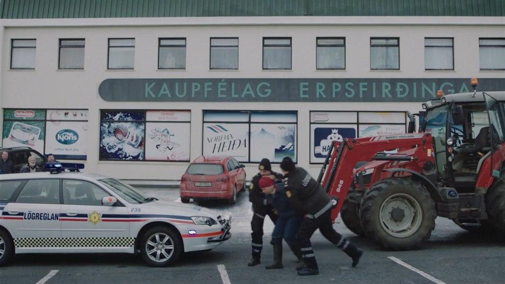 Ve filmu Daleko od Reykjavíku se bude bojovat mlékem a hnojem