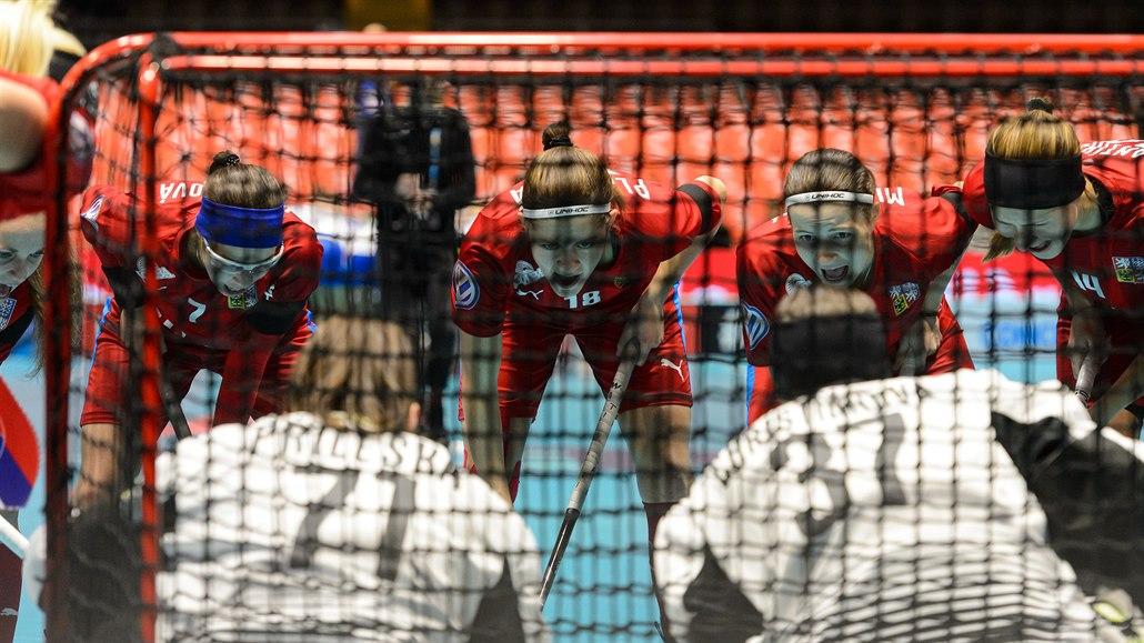 Florbalistky rozdrtily Slovensko a mají jisté světové čtvrtfinále