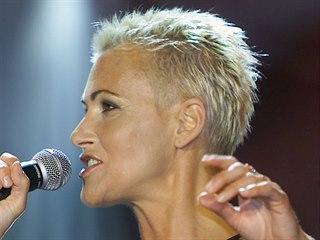 Zpěvačka Roxette Marie Fredrikssonová na snímku z roku 2001.