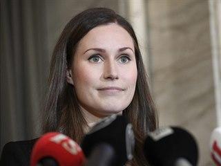 Sociálnědemokratická politička Sanna Marinová bude novou finskou premiérkou. Ve...