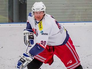 Václav Prospal nastoupil za druholigový David Servis České Budějovice.
