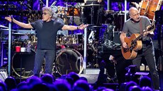 Roger Daltrey a Pete Townhsend ze skupiny The Who