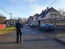 Policisté v Aši vyšetřují násilný trestný čin.