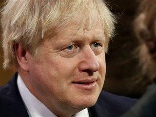 Britský premiér Boris Johnson (19. prosince 2019)