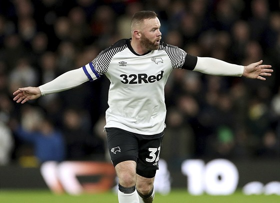 Wayne Rooney z Derby County