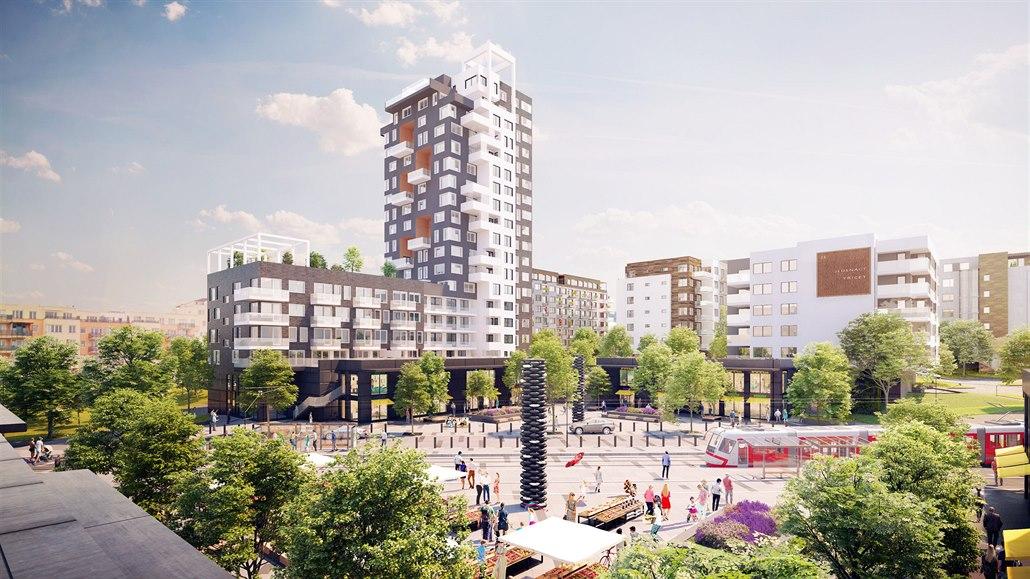 Finep nabízí družstevní byty mimo jiné v projektu Kaskády Barrandov v Praze. V domě, který postaví v rámci XI. etapy projektu, bude 110 družstevních bytů 1+kk až 4+kk o velikostech 39 až 120 metrů čtverečních.