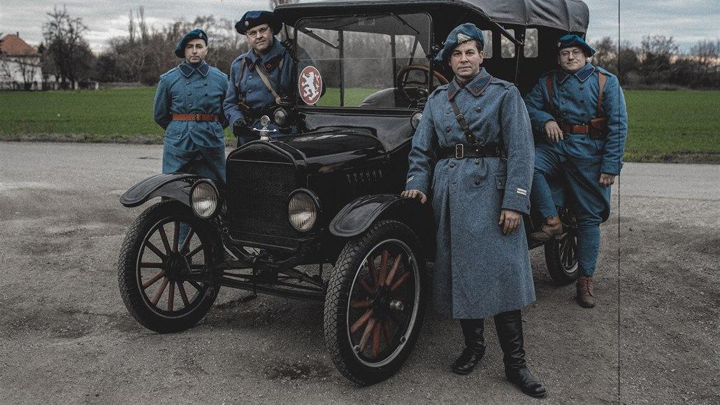 Legendární Ford T startuje ve službách československých legií