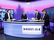 Lídři pražské koalice pirátský primátor Zdeněk Hřib, předseda zastupitelů...