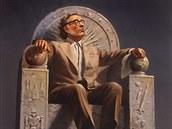 Isaac Asimov na trůně