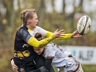 Ragbistka Kateřina Pokorná se tomuto sportu věnuje od 16 let.