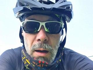 Sto osmdesát kilometrů na kole přišlo Václavu Baškovi jako fajn výlet. Zabrat...
