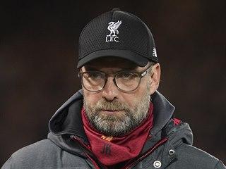 Liverpoolský trenér Jürgen Klopp