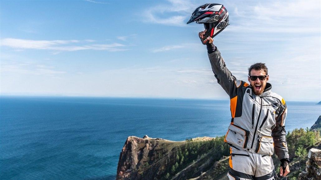 U Bajkalu jsem zažil nejhorší den v životě, říká motorkář cestovatel