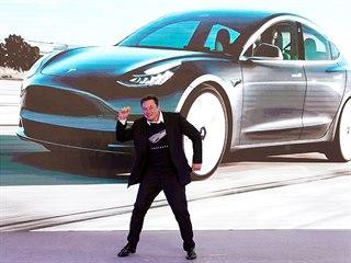 Šéf americké automobilky Tesla Elon Musk má k radosti důvod. V Číně otevřel...