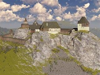 Takto vypadal Žižkův hrad Kalich