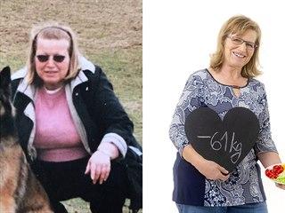Paní Jiřina zhubla neuvěřitelných 61 kilogramů.