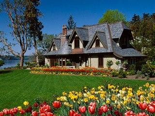 Luxusní sídlo Mille Fleurs na ostrově Vancouver Island