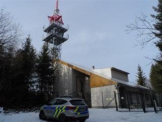 Muž ukradl z areálu vysílače na Ploštině na Zlínsku kamery a bezpečnostní čidla.