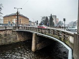 Špitálský most v Trutnově (9. 1. 2020)