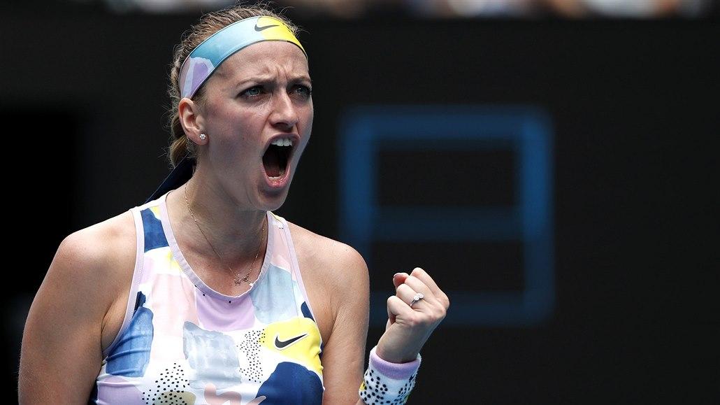 Kvitová vydřela postup, Krejčíková i Kristýna Plíšková v Melbourne končí